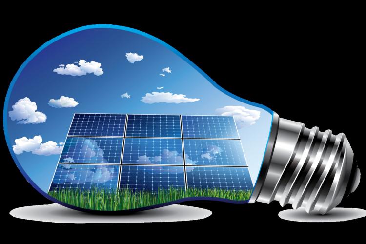 ampoule et solaire